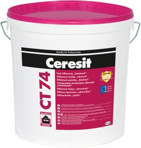 Ceresit CT 74 tynk silikonowy 1.5mm 25kg baza