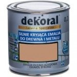 Dekoral Emakol Strong emalia do drewna i metalu 0.2L