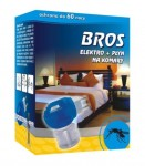 BROS elektro+płyn na komary 60 nocy 40ml.
