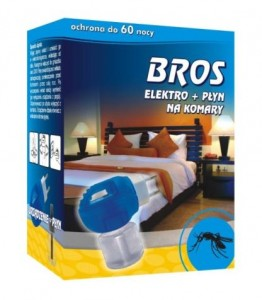 BROS elektro+płyn na komary 60 nocy 40 ml