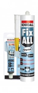SOUDAL Fix All Crystal 290 ml.