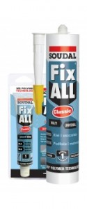 SOUDAL Fix All Classic czarny 290 ml.